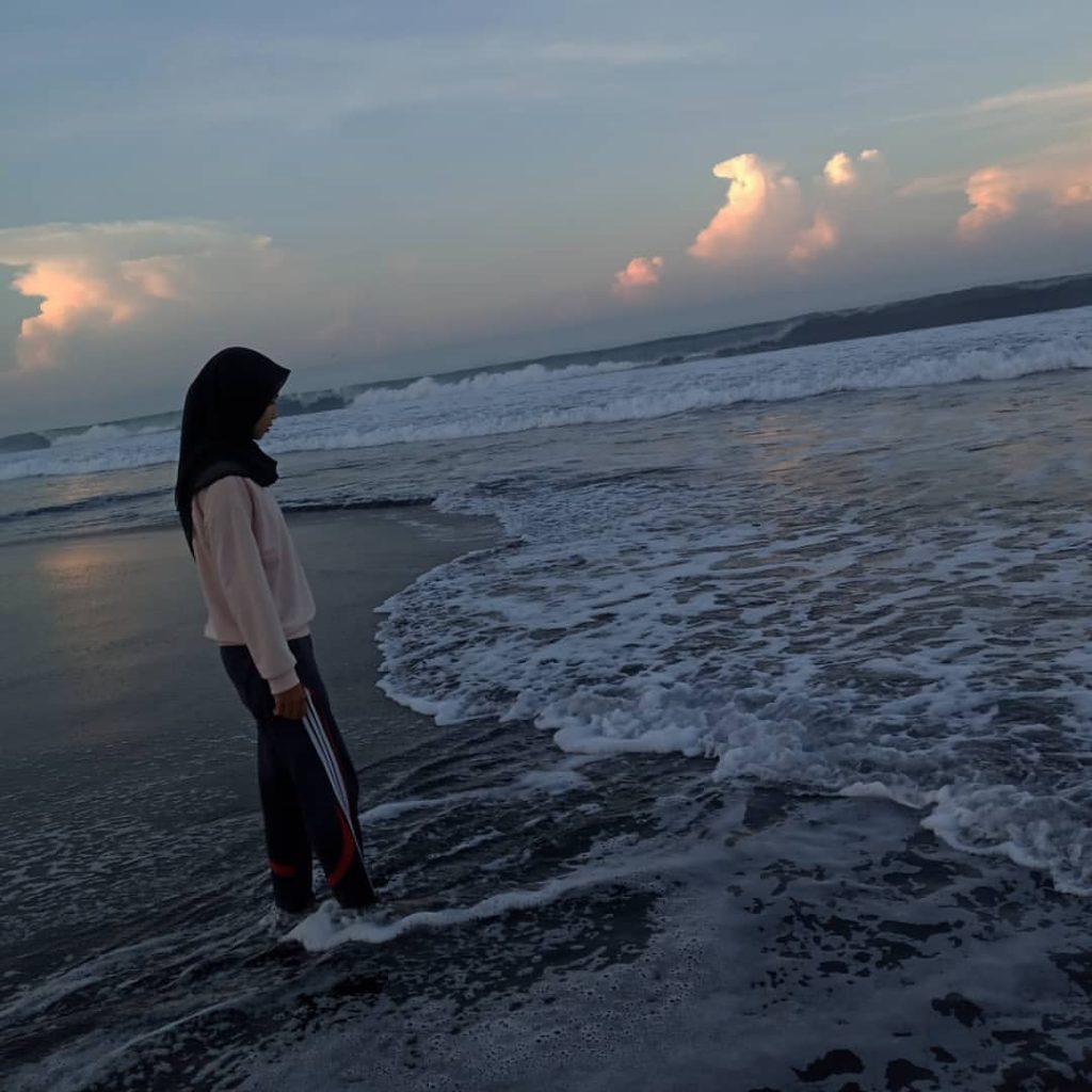 Pantai Paseban di Kabupaten Jember